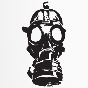 gas mask - Taza termo