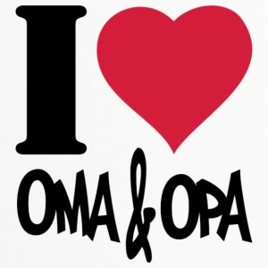 I love Oma & Opa - Thermobecher