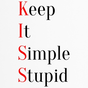 KISS - Keep It Simple Stupid - Thermobecher