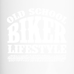 Old School Biker - Travel Mug