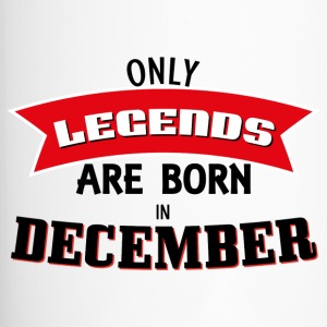 Legends Born in December - Travel Mug