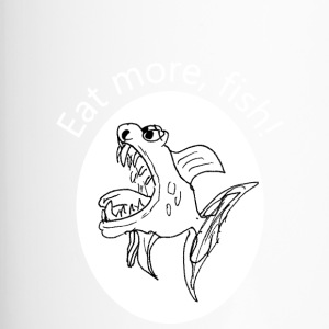 Eat more, fish - Thermobecher