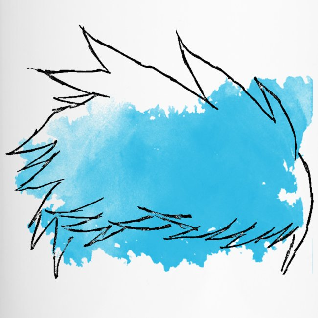 Blue Splat Original