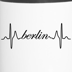 Berlin heartbeat ECG - Travel Mug
