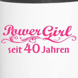 Girl Power de 40 ans - Mug thermos