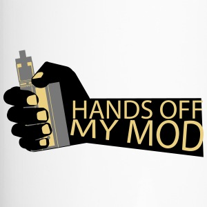 Hands Off - Mijn Mod - Vaper Shirt - Thermo mok