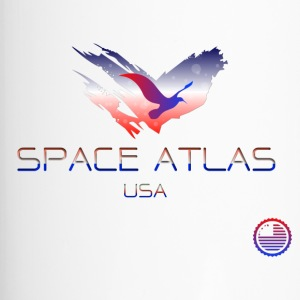 Space Atlas Tee USA - Travel Mug