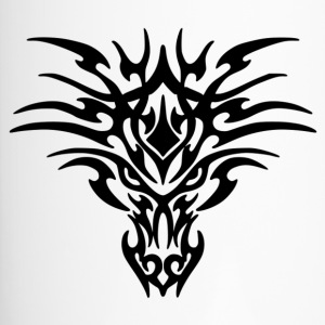 Tattoo Dragón Tribal - Taza termo