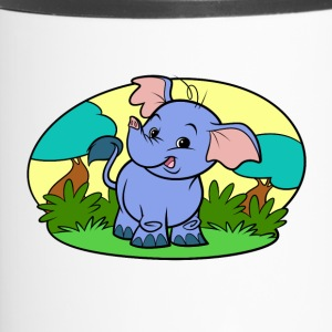 Piccolo Art Collection Elephant - Tazza termica