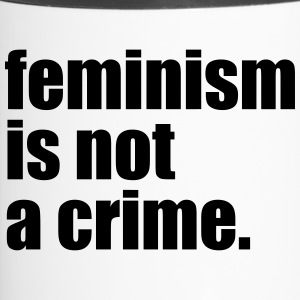 Feminism is not a crime - Travel Mug