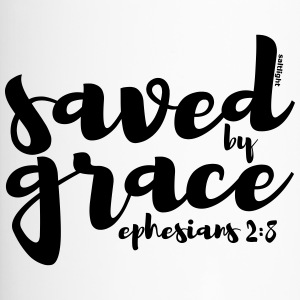 Saved by Grace - Ephesians 2: 8 - Travel Mug