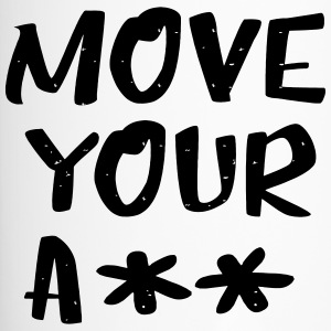 move your ass - sportlich - Thermobecher