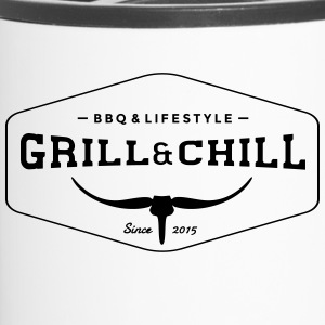 BBQ and Chill / BBQ and Lifestyle logo 1 - Travel Mug