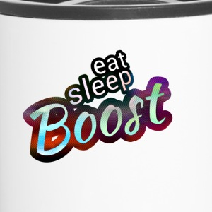 Eat sleep B00ST Magic Color - Thermobecher