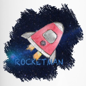 Rocketman - Space ship in the universe Artwork - Travel Mug