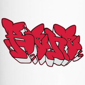 Graffiti Name Rene mit Fill-in AllroundDesigns - Thermobecher