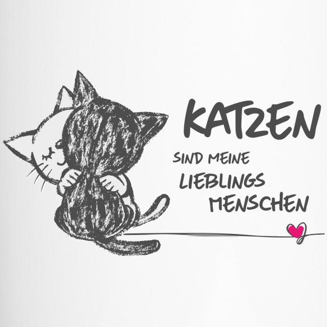 Vorschau: Katzen Lieblingsmenschen - Thermobecher