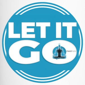 Let It Go // Meditate - Travel Mug
