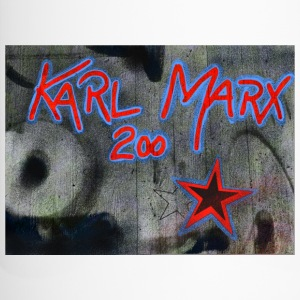 marx grafitti - Travel Mug