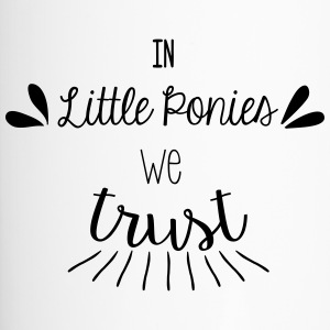 In piccoli pony we trust - Tazza termica