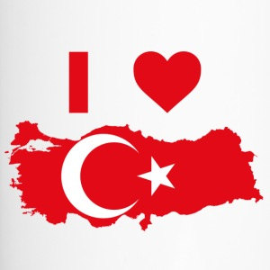 I LOVE TURKEY! - Thermo mok