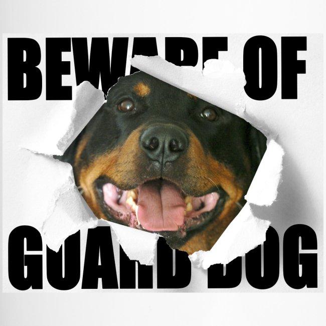 beware of guard dog