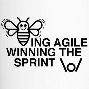 BEING AGILE WINNING THE SPRINT - Thermobecher