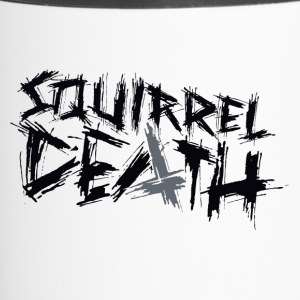 SQUIRREL DEATH - Logo positively - Travel Mug