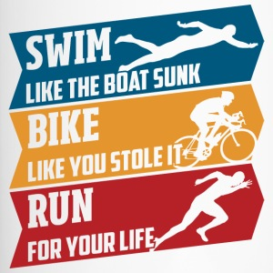 Swim - Bike - Run - Tazza termica