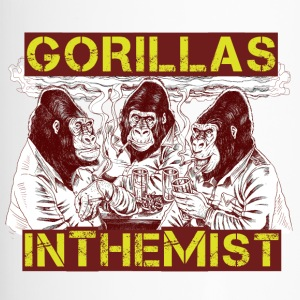 GORILLAS IN THE MIST - Travel Mug