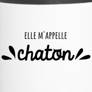 Elle m'appelle Chaton - Mug thermos
