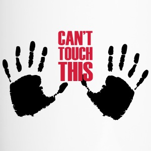 Can't touch this (2 handen) - Thermo mok
