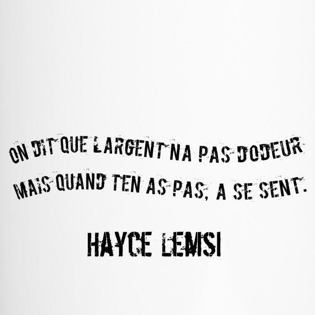 Punchline de Hayce lemsi
