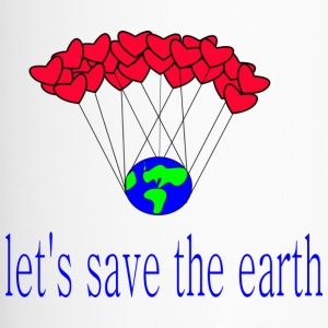 let-s_save_the_earth - Taza termo