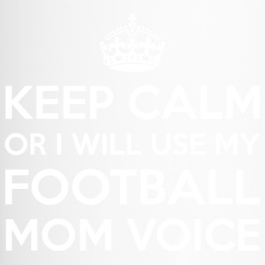 Football Mom Voix - Mug thermos