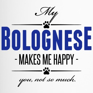 My Bolognese makes me happy - Thermobecher