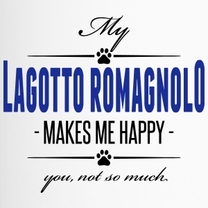 My Lagotto Romagnolo makes me happy - Thermobecher