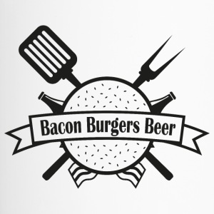 Bacon Burgers Beer - Thermobecher