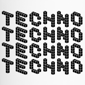 TECHNO SHIRT - Thermobecher
