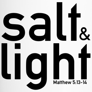 Salt & Light - Matthieu 5: 13-14 - Mug thermos