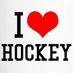 I Love Hockey - Thermobecher