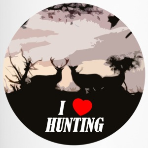 I love hunting - Mug thermos