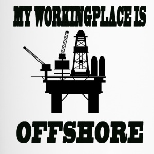 MY WORKINGPLACE IS OFFSHORE - Travel Mug