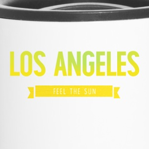 Typografie LOS ANGELES FEEL THE SUN - Thermobecher
