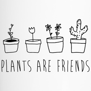 Plants are friends - Travel Mug