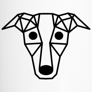 Dog - Art - vorm - Diamond - Thermo mok