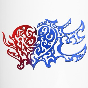 Tribal Heart Good And Evil Side - Thermobecher