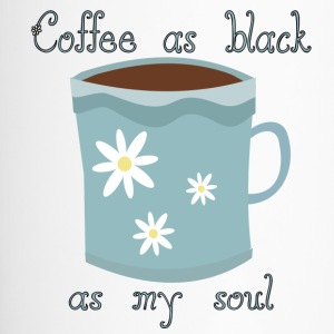 Coffee as Black As My Soul - Travel Mug