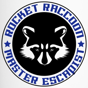 Rocket raccoon logo full - Travel Mug