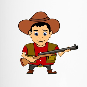 Cowboy Wilder Westen Sheriff - Thermobecher